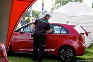 event car preparation, display car cleaning, corporate vehicle valeting event management